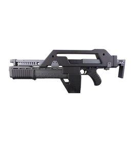 Snow Wolf M41A Pulse Alien Gun AEG - BK