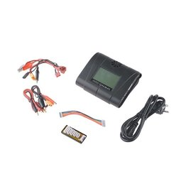 Redox GAMMA multiprocessor charger with touchscreen - black