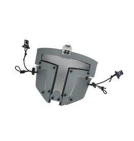 TMC SPT Mesh Masque de protection  Sparta pour casques FAST - Gris