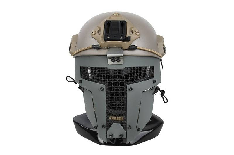 TMC SPT Mesh Schutzmaske Sparta für FAST Helme - Grau