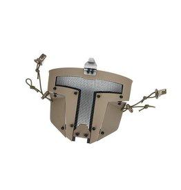 TMC SPT mesh protective mask Sparta for FAST helmets - TAN