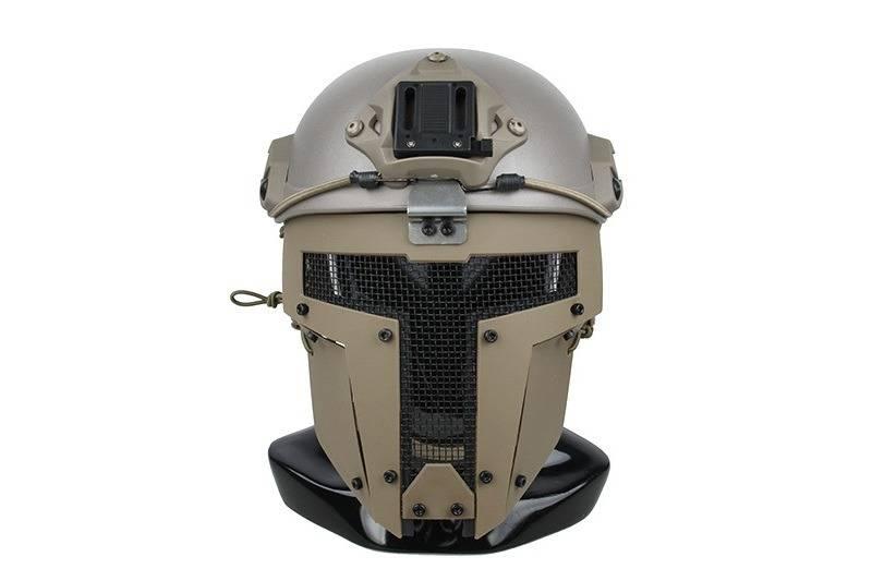 TMC SPT Mesh Schutzmaske Sparta für FAST Helme - TAN
