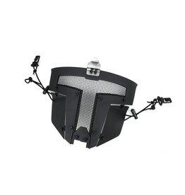 TMC SPT mesh protective mask Sparta for FAST helmets - BK