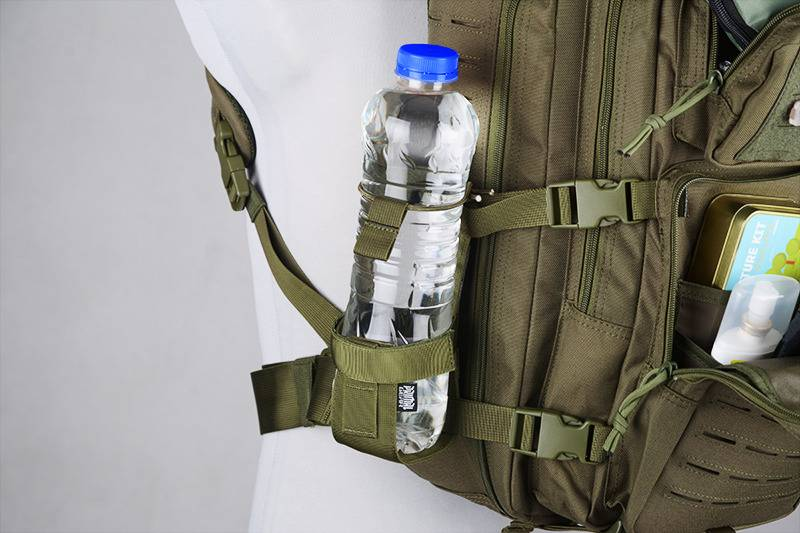 detailed pictures promo codes hot new products Primal Gear MOLLE Bottle Pouch - OD - AirSoftArms TacStore