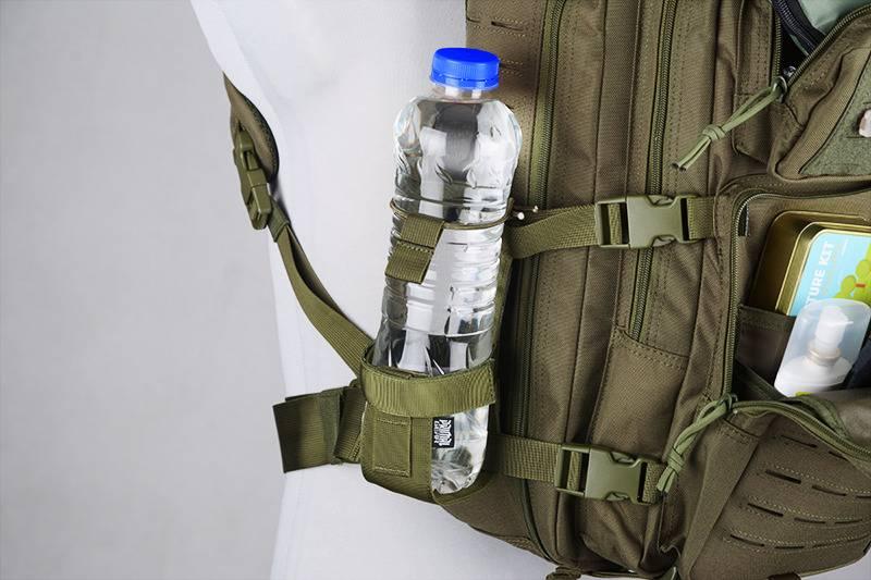 Primal Gear MOLLE Flaschenhalterung Bottle Pouch - BK