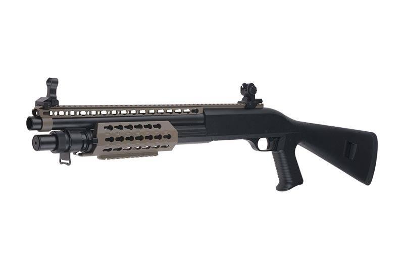 Secutor Velites S-XI taktische KeyMod 3-Burst Spring Shotgun - TAN