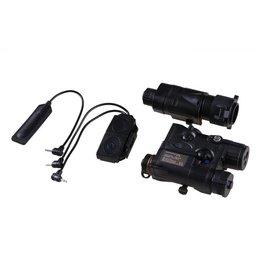 Element AN/PEQ-16A and M3X Flashlight Illuminator Combo - BK
