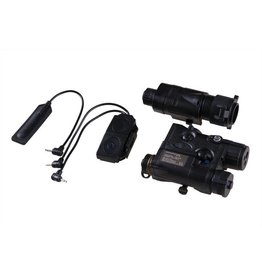 Element AN/PEQ-16A und M3X Flashlight Illuminator Combo - BK