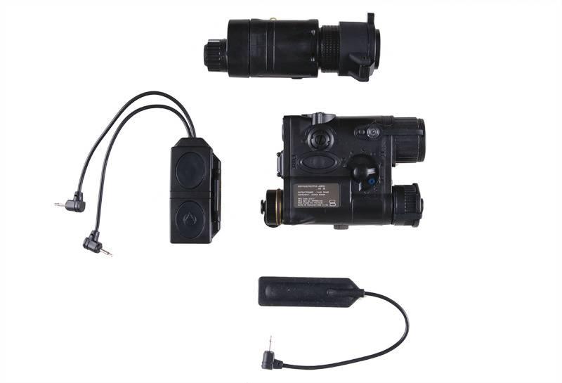 Element AN/PEQ-16A und M3X Flashlight Illuminator Combo - BK