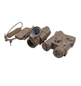 Element AN/PEQ-16A and M3X Flashlight Illuminator Combo - TAN