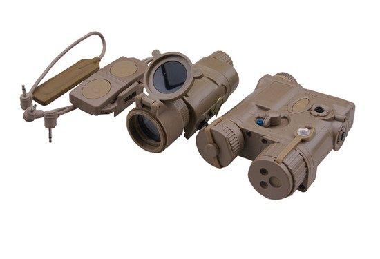 Element AN/PEQ-16A und M3X Flashlight Illuminator Combo - TAN