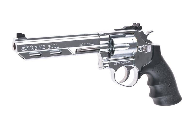 HFC HG133C  357 Magnum 6 Zoll Greengas Revolver - Silver