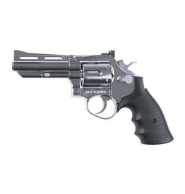 HFC HG132C .357 Magnum 4 Inch Greengas Revolver - Silver