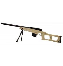 Swiss Arms SAS 08 VSS Action Bolt Sniper Set– TAN