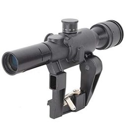 Swiss Arms 4x26 AK Kalashnikov Sniper PSO Scope - BK
