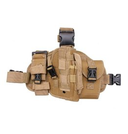 ACM Tactical Universal Leg Holster - TAN