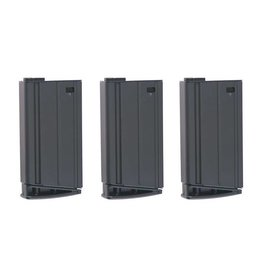 VFC 3 x Set Mid-Cap 160 BB Magazine for SCAR-H - BK