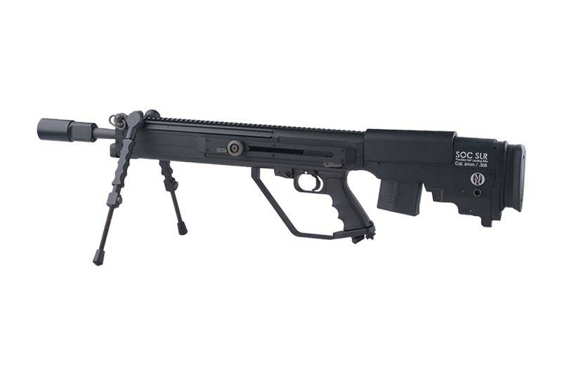 Ares otto repa soc slr sniper aeg bk airsoftarms tacstore