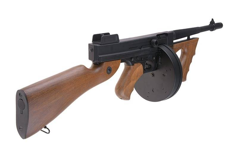 Cyma CM 051 Tommy Gun Thompson MP AEG - BK/Wood Look
