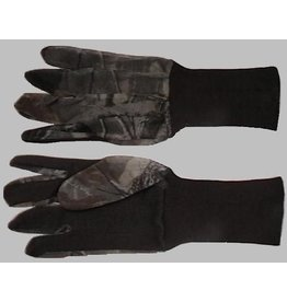 Allen Jersey Touchscreen Hunting Gloves - camo net