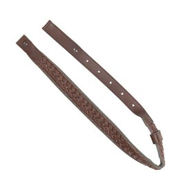 Allen Basket Weave Rifle Sling - marron