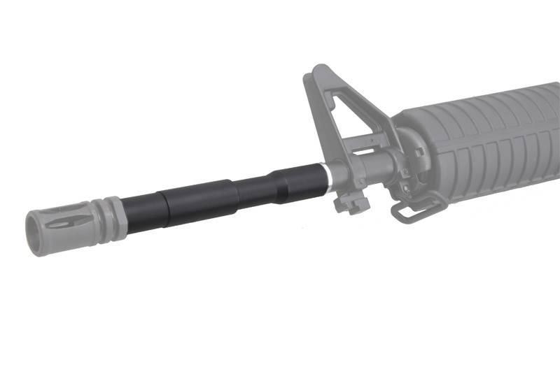AirSoft Engineering Laufverlängerung 130 mm -14mm CCW - BK