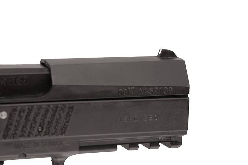 ASG CZ 75 P-07 Duty - Co2 Blowback 4.5mm Airgun - BK