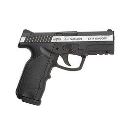 ASG Steyr M9-A1 - Pistolet à air Co2 NBB 4,5 mm - Double tonalité