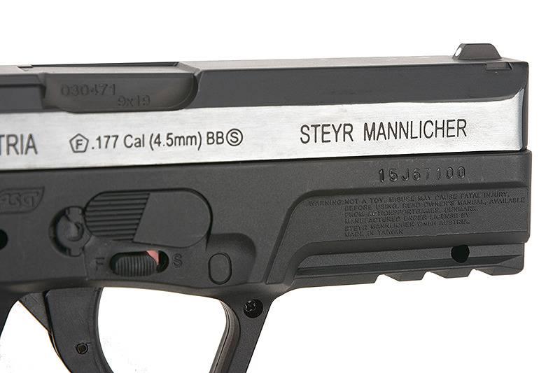 ASG Steyr M9-A1 - Co2 Blowback 4.5mm Airgun - Dual Tone