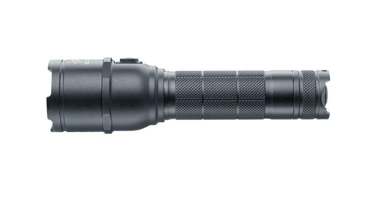 Walther Behördenlampe LED Taschenlampe SDL 800 mit UV-Licht - BK