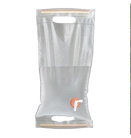 UST Brands Porte-eau à roulettes 10L, transparent