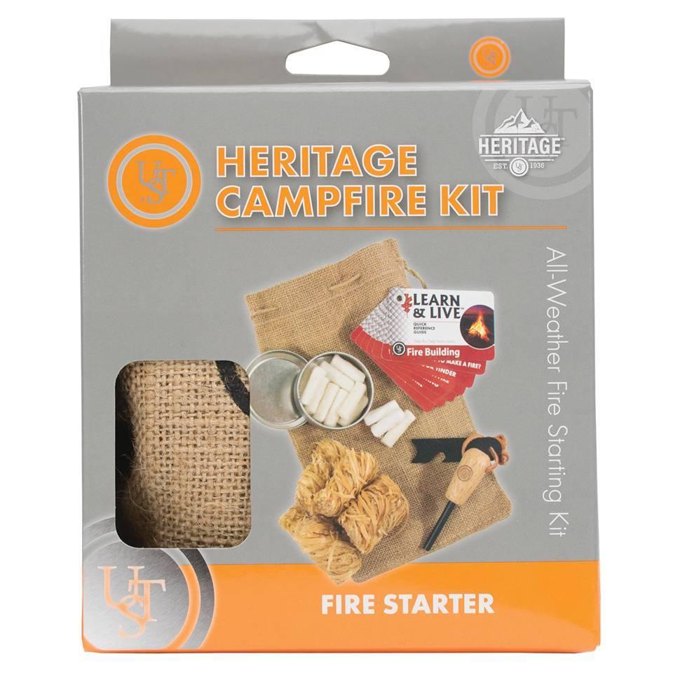 UST Brands Heritage Lagerfeuer-Kit