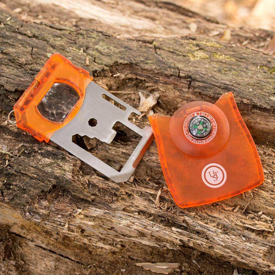 UST Brands Survival Card Tool - orange