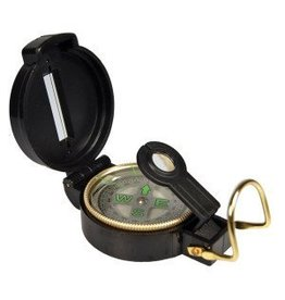 UST Brands Lensatic Compass - noir