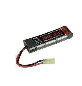 ACM Ni-Mh 8.4V batterie 1.600 mAH -type Block