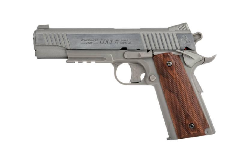 Colt rail gun vollmetall co nbb joule silber