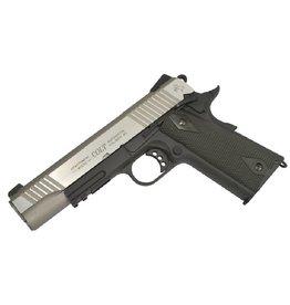 Colt 1911 Rail Gun Vollmetall Co2 GBB - 1,4 Joule - Dualtone