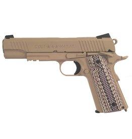 Colt M45A1 CQB Vollmetall Co2 GBB - 1,2 Joule - TAN