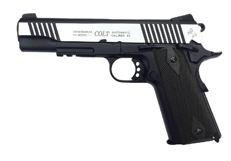 Colt rail gun vollmetall co gbb joule dualtone