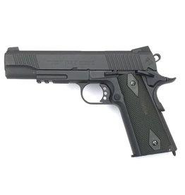 Colt 1911 Rail Gun Vollmetall Co2 GBB - 1,2 Joule - BK