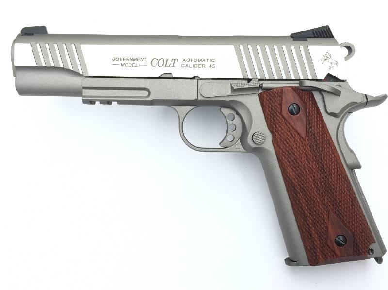 Colt rail gun vollmetall co gbb joule stainless