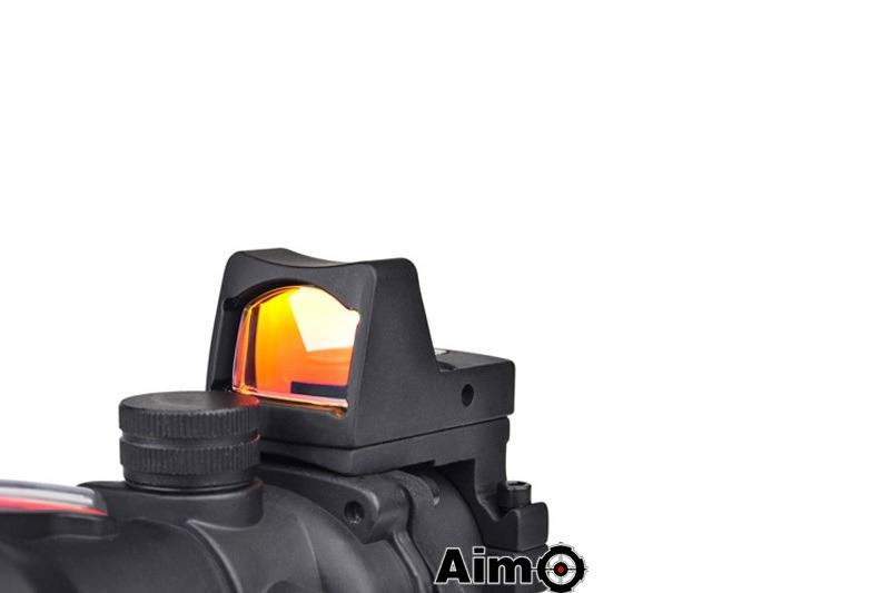 Aim-O Red Dot 4x32 Type Acog & RMR Weaver - BK/rouge