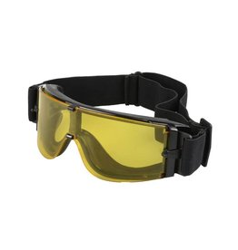 Ultimate Tactical X800 taktische Brille  - BK/ yellow Lens