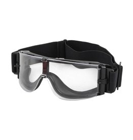 Ultimate Tactical X800 Tactical Glasses - BK/Clear Lens