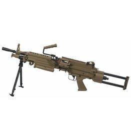 A&K FN M249 Para AEG Maschinengewehr 1,49 Joule - TAN
