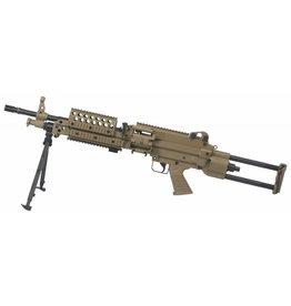 A&K FN MK46 AEG Maschinengewehr - TAN