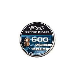 Walther Copper Impact Diabolos à pointe 4,5 mm 5 x 500 pièces