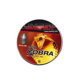 Umarex Cobra Diabolos tête pointu 5.5 mm 5 x 200 pièces