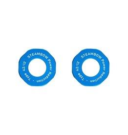 Steambow Power Reduction Set – blau eloxiert