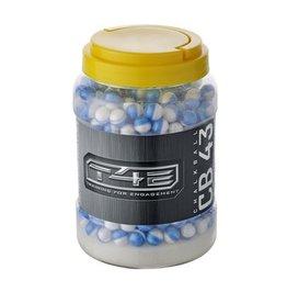 Umarex T4E CB 43 boules de craie 0,64 g - cal.43 - 2 x 250 pièces